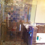 Glass and Tile Shower Installation