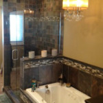Shower and Tub Install with Matching Tile