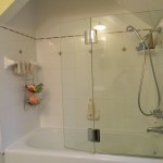 glass shower enclosure and door installation