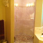 Glass Door Shower