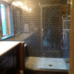 Executive Glass and Tile Shower